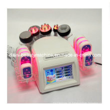 7in1 Tripolar Bipolar Sextupole RF Photon Lipo Laser Massager de vácuo e Slimming Machine