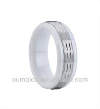 ceramic and titanium wholesale ceramic jewelry ring