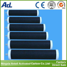 Purificación de aire con filtros de carbón activado