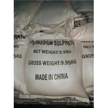Sulfate de potasse à 100% d'eau solubel