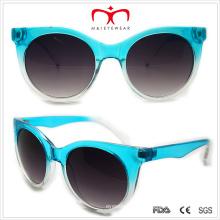 Пластиковые унисекс кошачий глаз солнцезащитные очки (WSP508303)