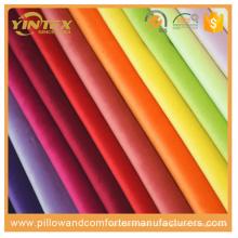 Tissu de vêtement de velours Tissu en polyester et coton