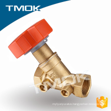 brass hydraulic solenoid sand polishing balance valve