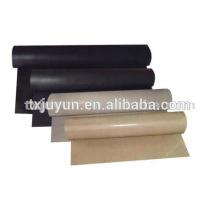 Tissu en tissu en PTFE / tissu en téflon / tissu tissu en fibre de verre revêtu de tissu / tissu teflon