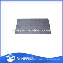 CNC пробивая точность спецтехники радиатора части плиты