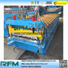 FX high quality zinc roof tile making machine