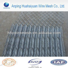 galvanized diamond fence Chain link fencing Pvc coated diamond wire fence