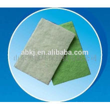 Nonwoven polyester fiber pre air filter media