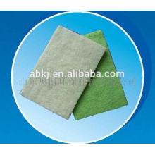 Nonwoven polyester fiber pré-filtro de ar