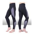 Контрастного цвета нейлон спандекс спортивная одежда для мужчин, лосины мужские, мужские штаны для йоги
