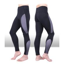 Contraste color Nylon Spandex Fitness desgaste hombres, polainas para hombres, hombres pantalones de yoga