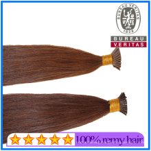 Human Virgin Remy Hair Top Grade High Quality I-Tip Hair Extensions Wholesale Price Human Hair