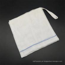 Cotonetes descartáveis de gaze estéril e respirável para tratamento de feridas