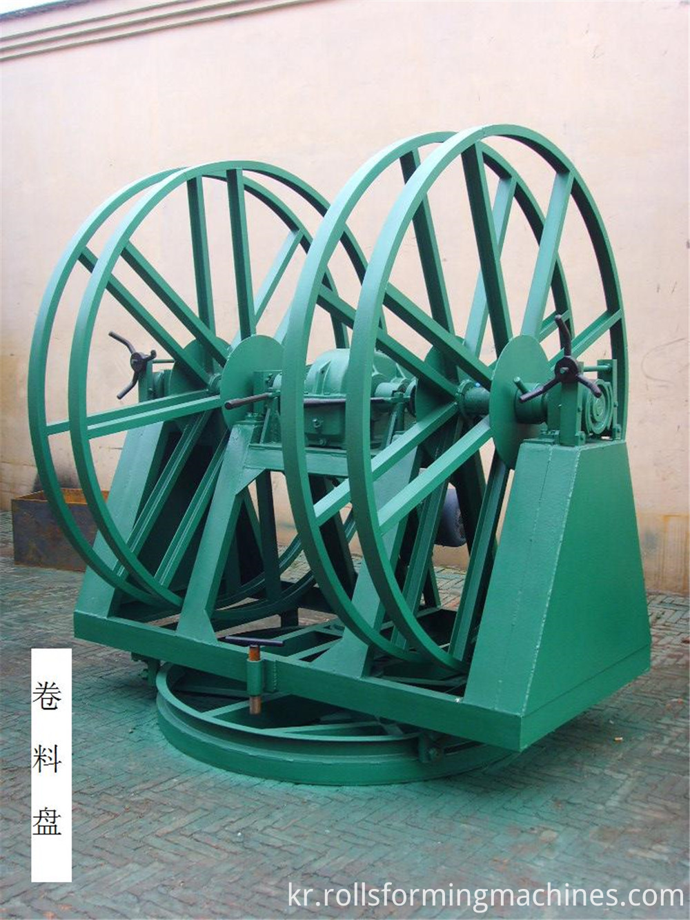 welded pipe machine decoiler