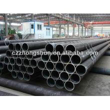 Tubo de aço sem costura de carbono ASTM A106 Gr B / API5L / ASTM A53 / SS400 / ST52