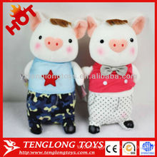 hot sale valentine gift cute stuffed pig plush toys