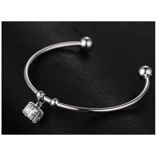 Bracelete da alta qualidade, bracelete fêmea da forma da estrela, acessórios do bracelete de cobre