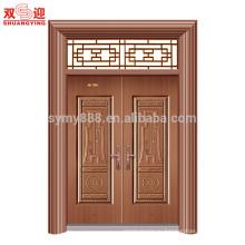 современные главные ворота дизайн входной двери стальная дверная рама