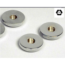 DIN467 Aço Carbono Knurled Thumb Thin Nuts
