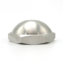 Wholesale price ss 410 stainless steel m16 security flat round head cap nut