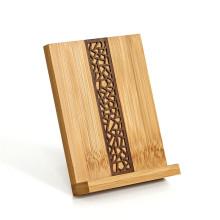 FQ marca al por mayor pop mano escritorio inteligente titular de la madera del teléfono