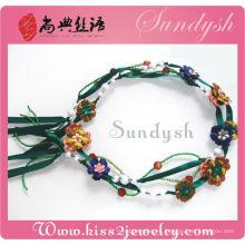 Accesorios de joyería de traje Cinturones de cadena hechos a mano para mujeres