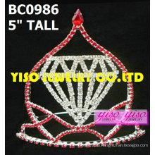 Coronas de concurso de diseño simple