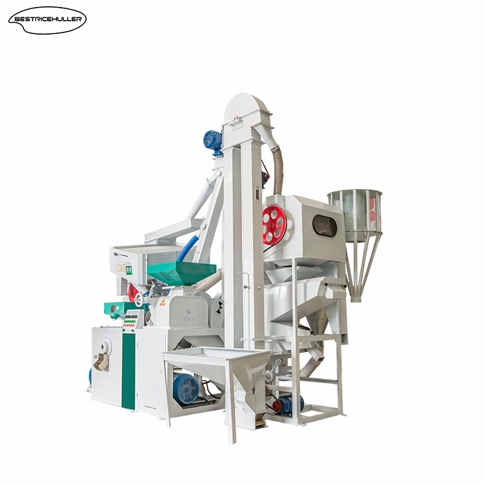 High working speed rice mill machine