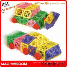 Magnético edifício formas crianças brinquedos educativos