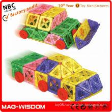magnetic building shapes children educational toys