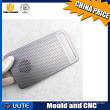 Peças de equipamentos eletrônicos de liga de alumínio com processamento de usinagem CNC de alta precisão