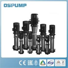 Pompe d'alimentation de chaudière verticale en acier inoxydable à plusieurs étages