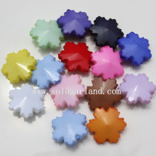 OEM Supplier for Flower Beads Loose Opaque Acrylic Plastic Snowflake Flower Beads export to Indonesia Factories