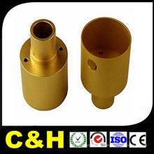 Latón de cobre de bronce torneado de torno CNC de mecanizado de piezas para la máquina