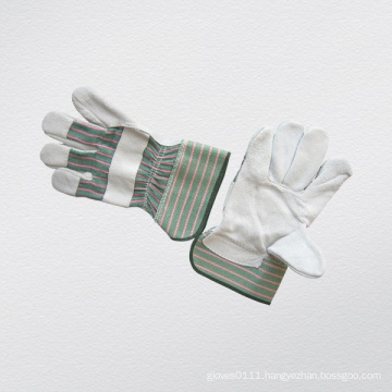 Cow Split Leather Full Palm Working Glove-3056.08