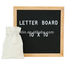 high quality felt letter board 10x10 with 362 letters