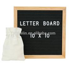 alta qualidade sentiu placa de carta 10x10 com 362 letras