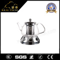 Family Use Modern Glass Teapot Borosilicate Potc with Stove