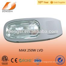 Preço do alojamento da luz de rua da lâmpada da indução de 200W 250W LVD