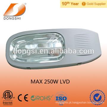 alojamento da lâmpada da estrada da luz de rua da indução do alumínio 200W 250W LVD