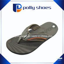 Mens tongs flop sandales taille 13 plage thong en cuir noir
