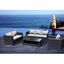 Outdoor 3 2 1 PE Rattan Sofa Set