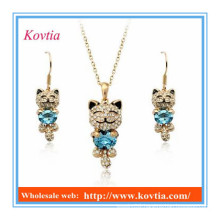 Dubai gold cute jewelry set for gift