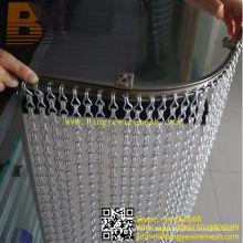 Aluminium Kettenglied Türvorhang