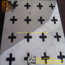 Puertas decorativas de chapa metálica perforada de aluminio