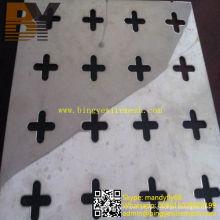 Portas decorativas em folha de metal perfurada de alumínio