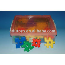 Plastic DIY learning toys