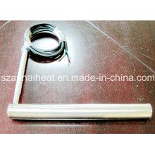 Elementos de aquecimento industrial de aquecedor tubular de titânio (TG-103)