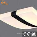 Curve Shape Decoration Hanging LED Commercial Pendant Light