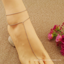 Fashion Metal Chain Anklet Bracelet Ankle Chain Foot Jewelry Barefoot Beach